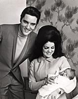 Elvis Presley, Priscilla Presley, Lisa Marie Presl