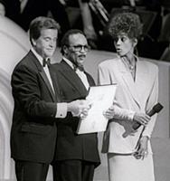 Dick Clark Quincy Jones Whitney Houston Undated US