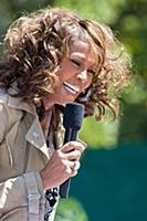 Whitney Houston 'Good Morning America' TV Programm