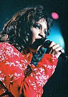 Whitney Houston in concert in Las Vegas - 1995 Var