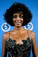 Whitney Houston Whitney Houston at the Grammy's -