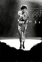 Whitney Houston On Stage At San Remo's Pop Festiva