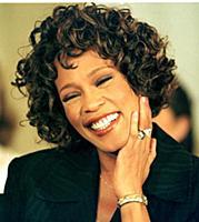 Whitney Houston Whitney Houston and Bobby Brown at