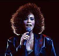 Whitney Houston in concert, Wembley Arena. Various