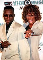 BOBBY BROWN WHITNEY HOUSTON MTV MUSIC AWARDS, LOS