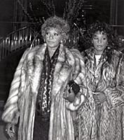 Whitney Houston and Her Mom Cissy Houston (early 1