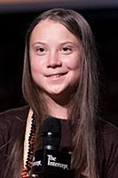 Greta Thunberg 'Right to A Future' event, New York