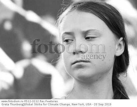 Greta Thunberg Global Strike for Climate Change, New York, USA - 20 Sep 2019