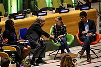 Greta Thunberg Youth Climate Summit, UN Headquarte