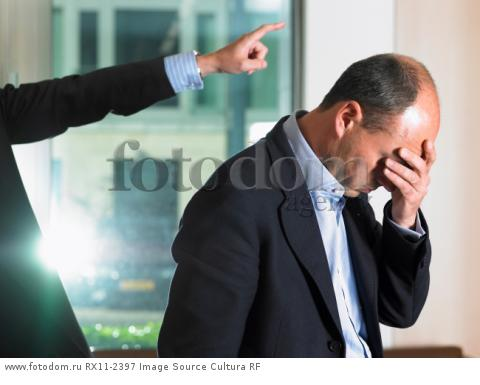 Man getting fired from his job