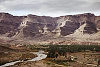 The Draa Valley stretches over 100 km through sout