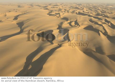 An aerial view of the Namibian desert, Namibia, Africa