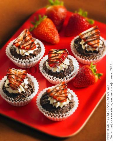 Маффины кексы и капкейки рецепты с фото