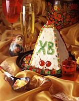 Pashka Russian Easter cake