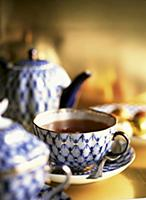Tea in St. Petersburg porcelain