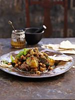 Beef tagine with chickpeas (North Africa)