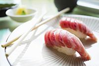 Authentic Japanese Toro nigiri