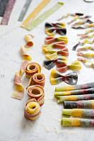 Coloured Pasta Shapes