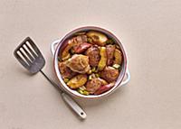 Chicken-and-apple casserole