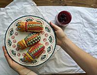 Ecuatorian guaguas de pan y colada morada, Figuras