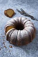 Gluten-free eggnog bundt cake