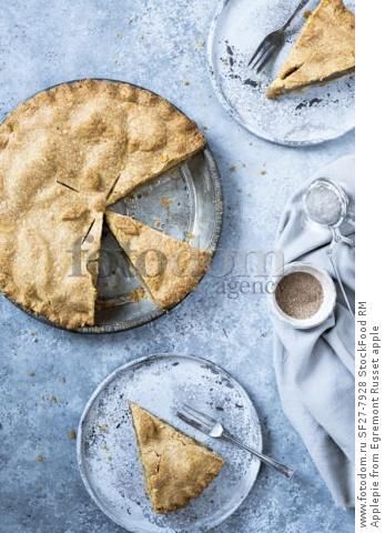 Applepie from Egremont Russet apple