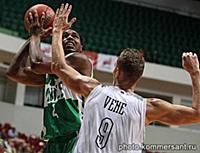 Едина лига ВТБ по баскетболу. Матч между командами