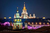 Виды Москвы. Март 2019.