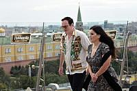 Американский режиссер Квентин Тарантино (слева) и