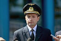 Брифинг в учебном центре авиакомпании 'Уральские а