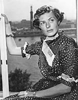 LONDON 1951-07-30. Ingrid Bergman in London. Swedi