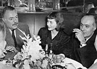 NEW YORK  1946-05-12 Ingrid Bergman with Ernest He