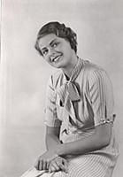 Ingrid Bergman 1932 in her first movie  'Munkbrogr