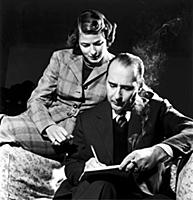 Arkiv 1950  Italian film dirctor Roberto Rossellin