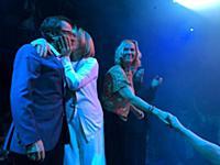 STOCKHOLM 20160120 ABBA members Bjorn Ulvaeus, Ann
