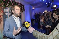 STOCKHOLM 2016-01-20 Bjorn Ulvaeus and Lena Kalle