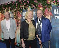 STOCKHOLM 2016-01-20  Agnetha Faltskog and Thomas