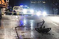 Полиция обезвреживает взрывное устройство в шведском городе Эскшё