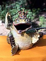 Копилка-лягушка из папье-маше своими руками 42