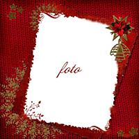 Christmas card in ancient style for a photo, congr
