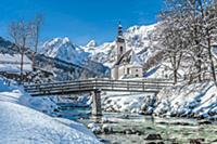 Живописные зимние пейзажи