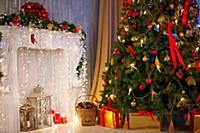Рождество и новый год. Красивая Рождественская елк