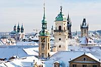 Пражские башни, Старый город, Прага (Prague), Чехи