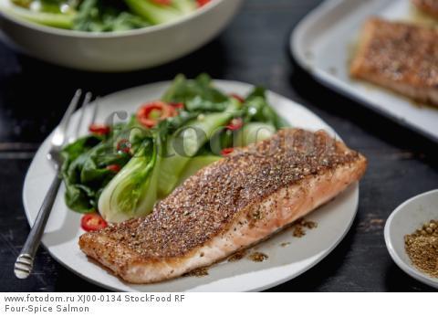 Four-Spice Salmon