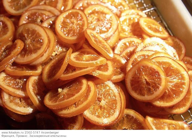 Засахарить апельсины рецепт