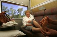 Секс в поезде купе 2004 год