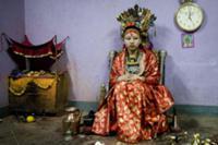 Живая богиня Кумари