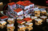 Золото для Будды, Мьянма, 2009. На фото: одна упак