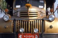 Золото для Будды, Мьянма, 2009. На фото: раскрашен