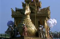Золото для Будды, Мьянма, 2009. На фото: ежегодный
